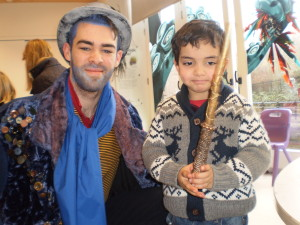 Omar with the wizard