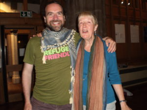 FODI chairperson Felicity with Chris